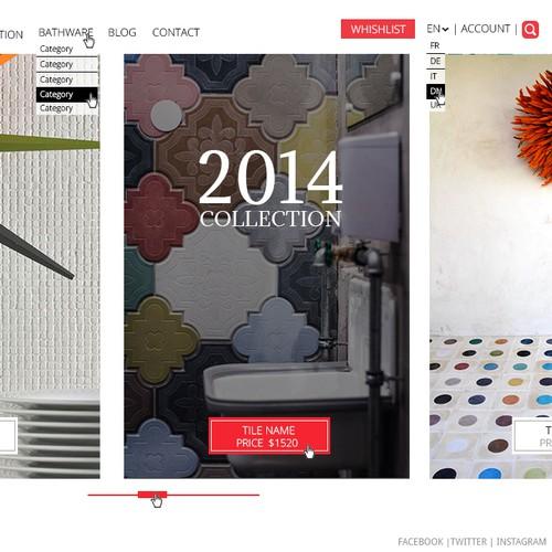 Design a new website for Perini