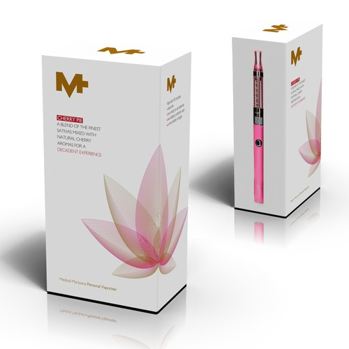 Packaging for Female-friendly Vape Pen