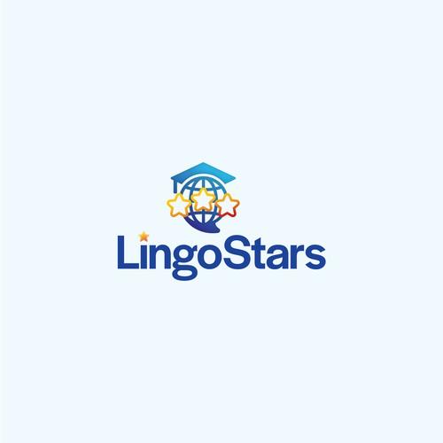 Modern logo for language tutors