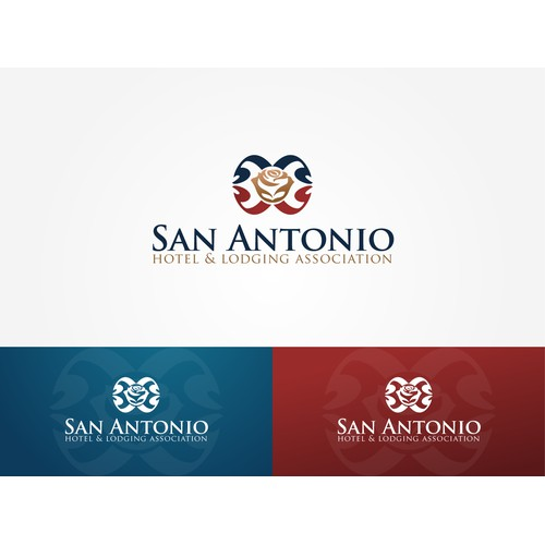 Create a hospitality logo for the top destination city in Texas