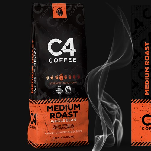 Coffee packaging design-concept