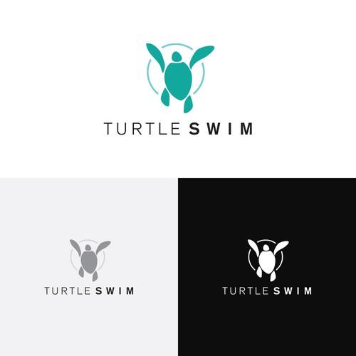 Swim suit logo