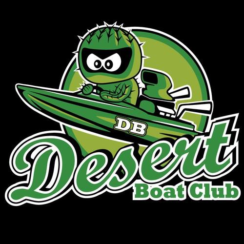 logo for vintage boat club