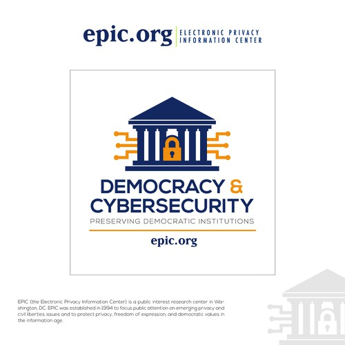 Create striking campaign image for digital privacy group