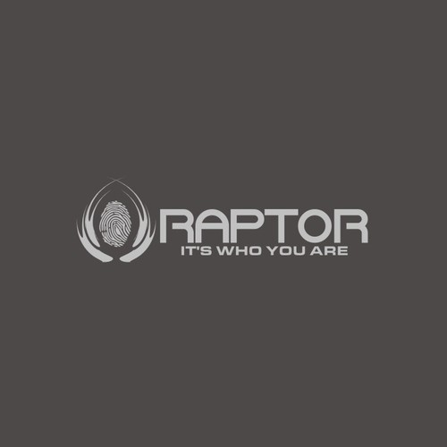 "RAPTOR,  ""It's who you are"".  Product Logo"