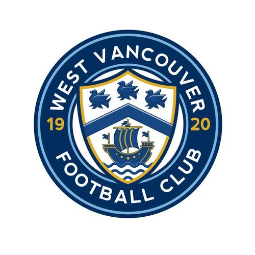 Classic football logo