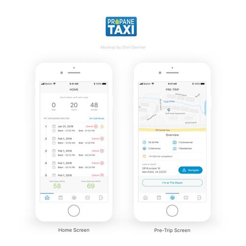 Propane Taxi App