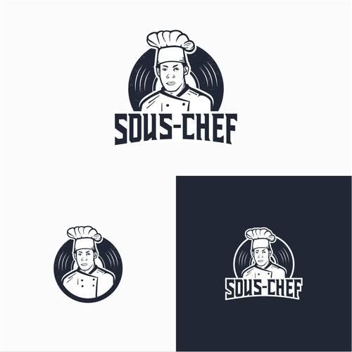 SOUS-CHEF LOGO CONCEPT