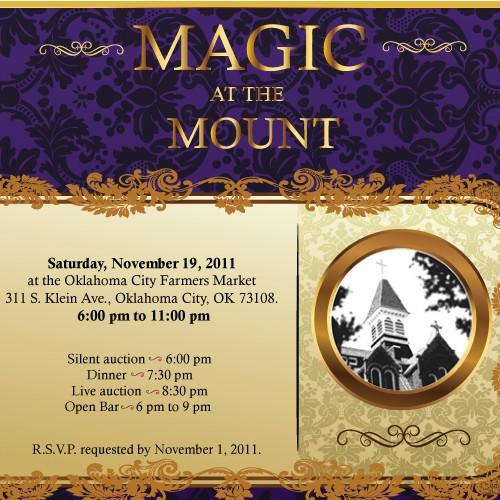 Mount St. Mary Catholic High School Event Invitation - will decide SOON!
