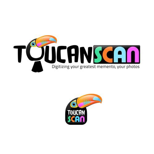 Toucan Scan - logo design