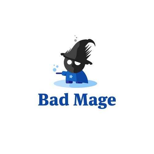 Logo concept for Bad Mage