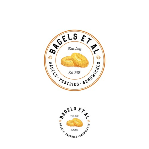 Bold logo for bakery