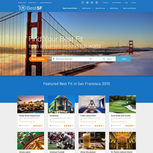 10BestSF Website Design