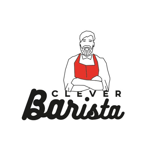 Logo concept for Clever Barista