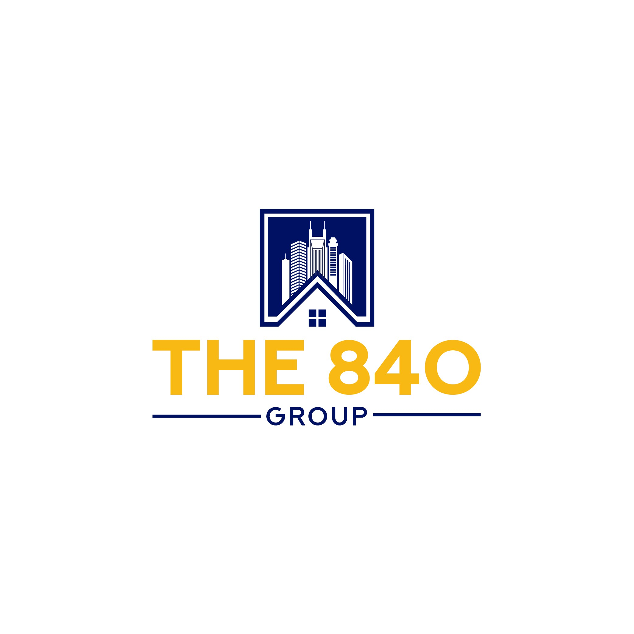 The 840 Group - Iconic commercial and residential Real Estate Logo