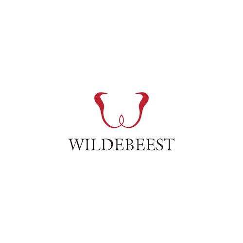Wildebeest that is simple yet professional and easily identifiable