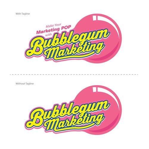 BubbleGum Marketing Logo