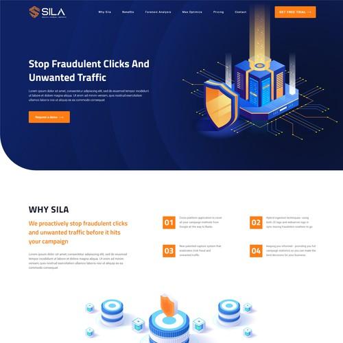 Cyber Security Website Design