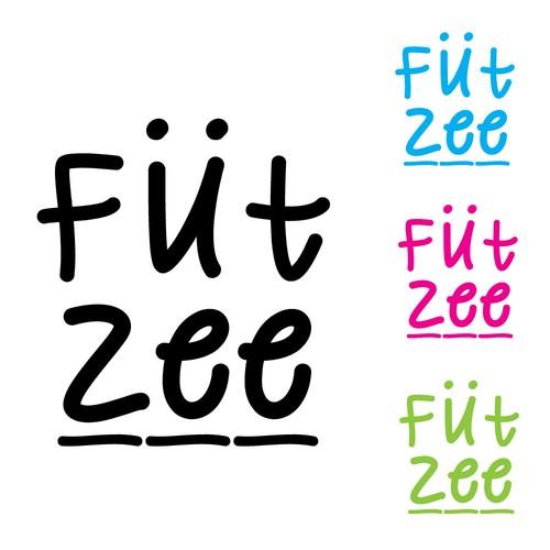 Fun logo for girls' beachwear