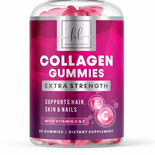 Hello Lovely Collagen Gummies