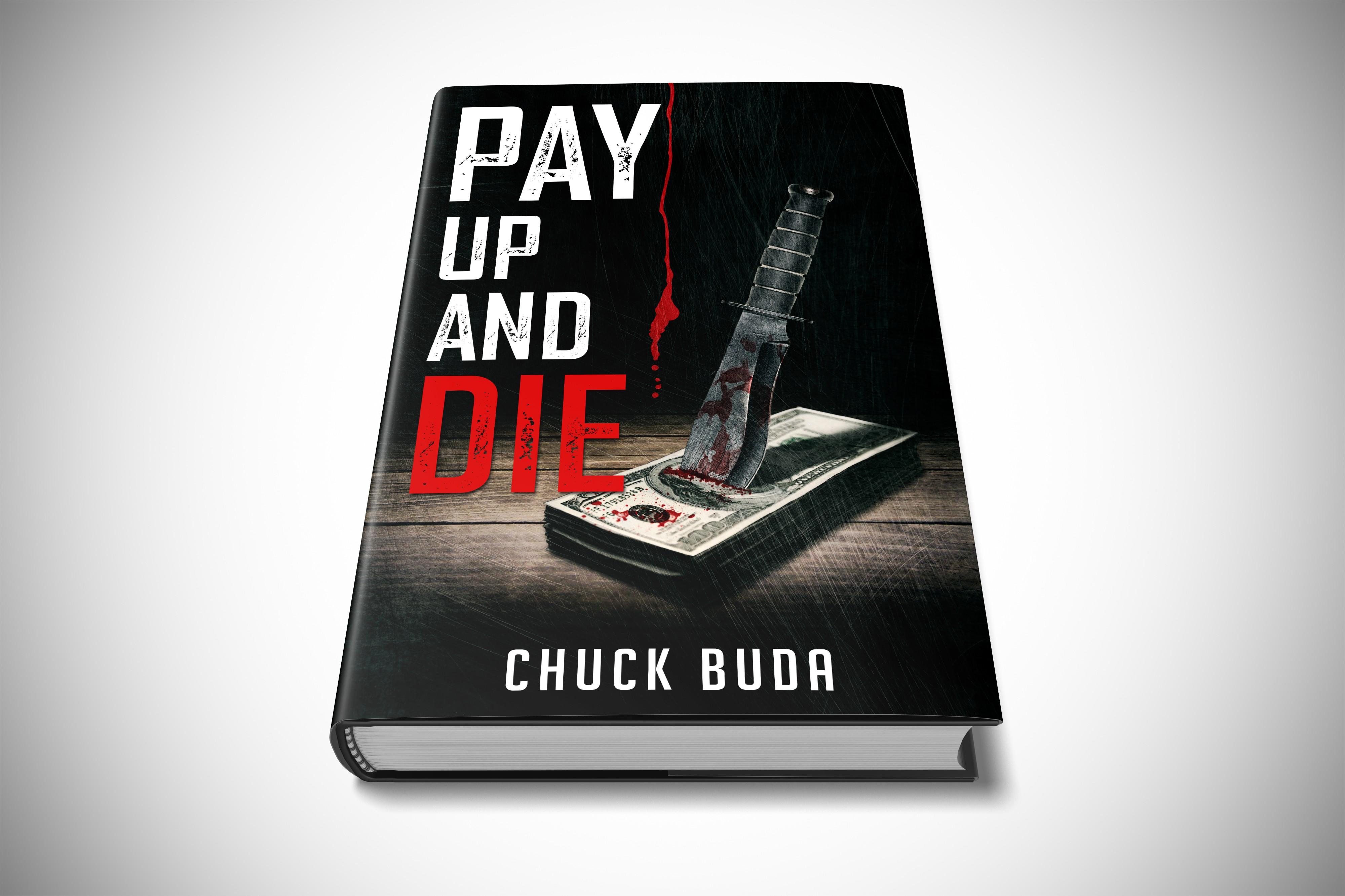 Create a killer cover for a dark, psychological thriller novel