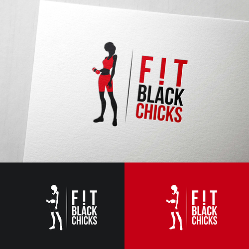 Create an Awesome logo for chicks passionate about health, fitness and wellness