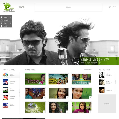 Web Design For Vidpk