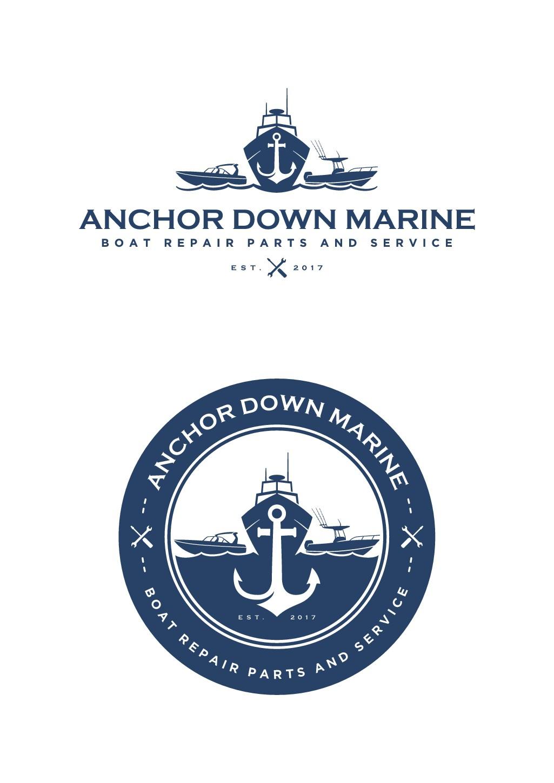 Let's Do This!  Show us what you got... Anchor Down Marine needs an original idea.