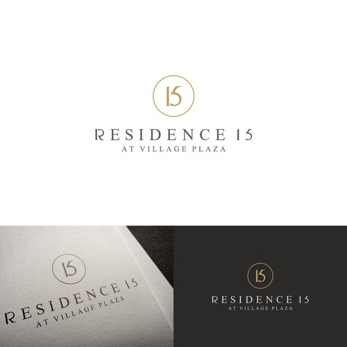 Luxury logo design for 5* resort