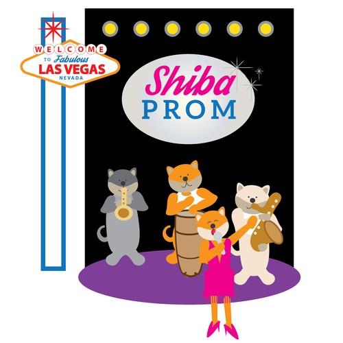 Shiba Prom