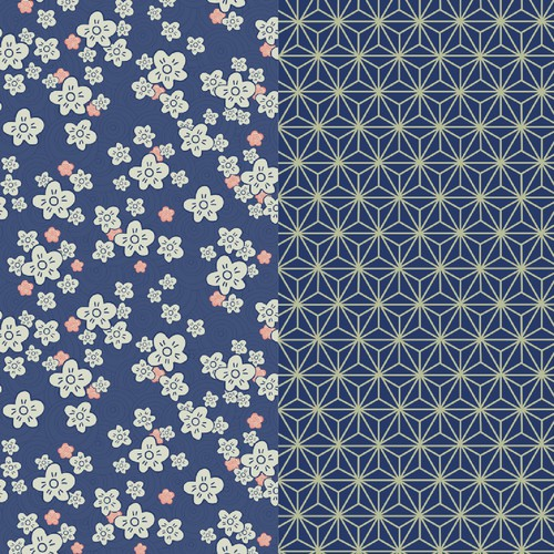 Japanese Inspired Pattern Collection