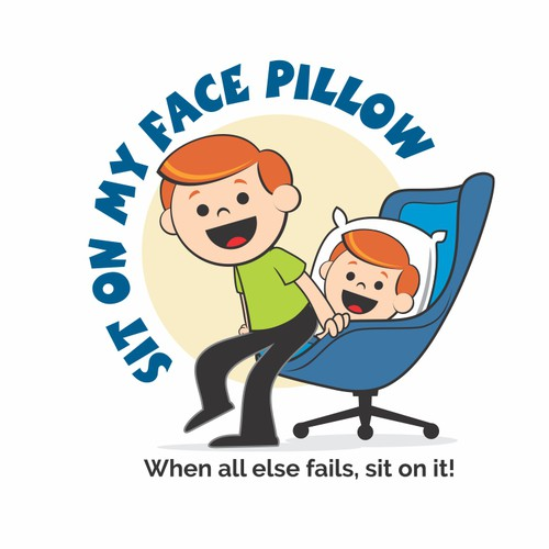 Commical Logo for Novelty Pillow