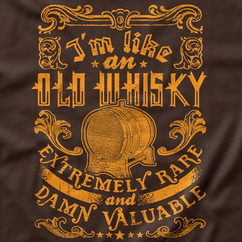 Like Old Whisky T-shirt