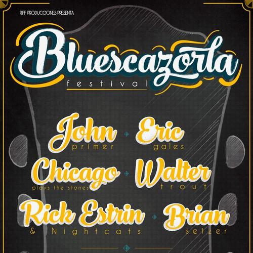 Cartel BluesCazorla
