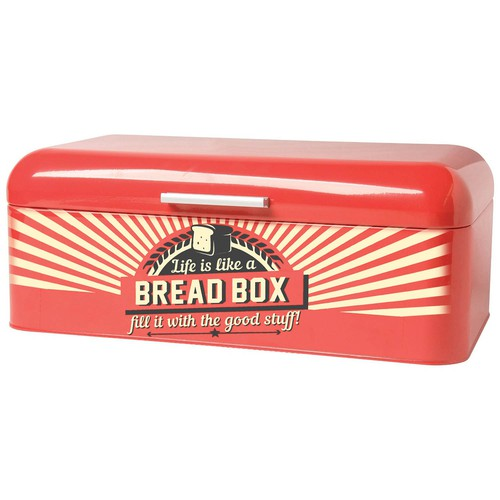Retro style bread box design