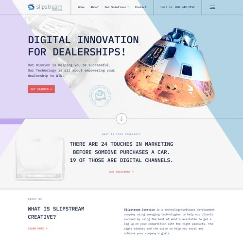 Website Refresh SlipStreamCreative