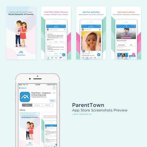 App Store Screenshots Design