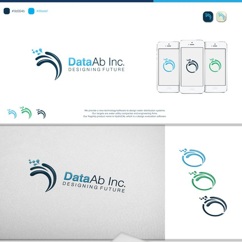 Simple and attractive logo for DataAb