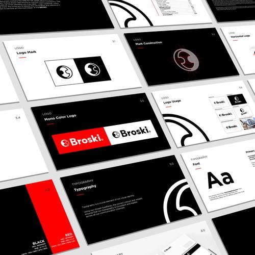 Modern Fashion Logo and Brand guide