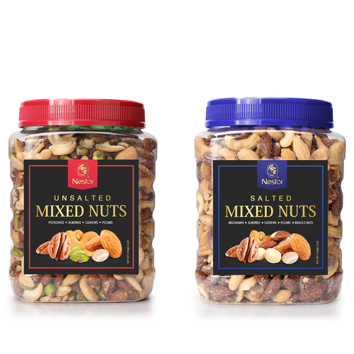 Mixed Nuts, label design
