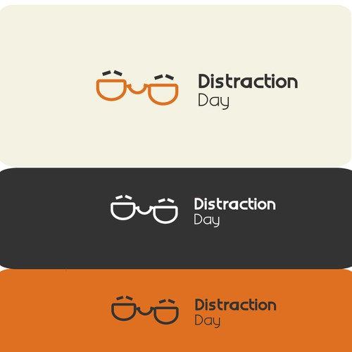 Create a logo design for Distraction Day