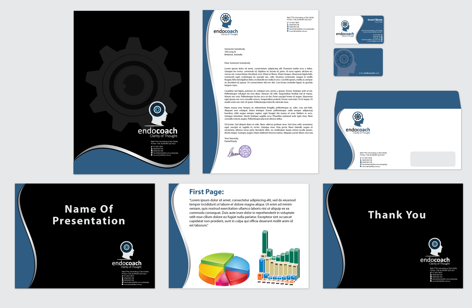 Stationery for Endocoach Ltd