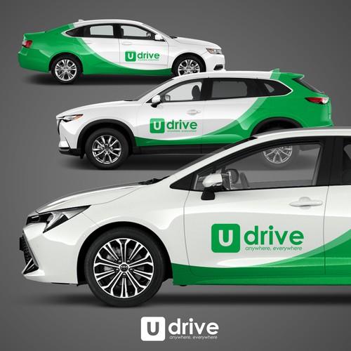 Udrive Vehicle wrap