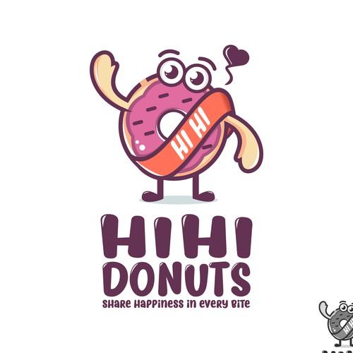 donuts mascot