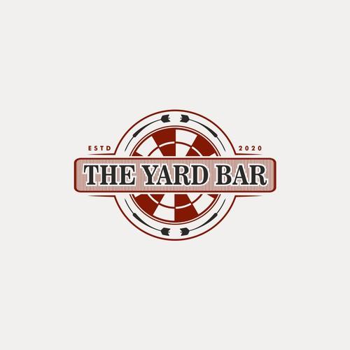 Logo for a yard game bar