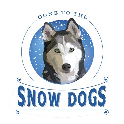 Gone to the Snow Dogs Logo