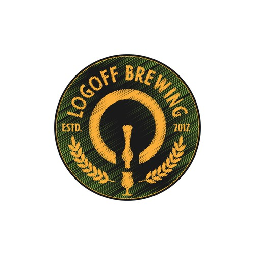 an innovative logo for a new craft brewery