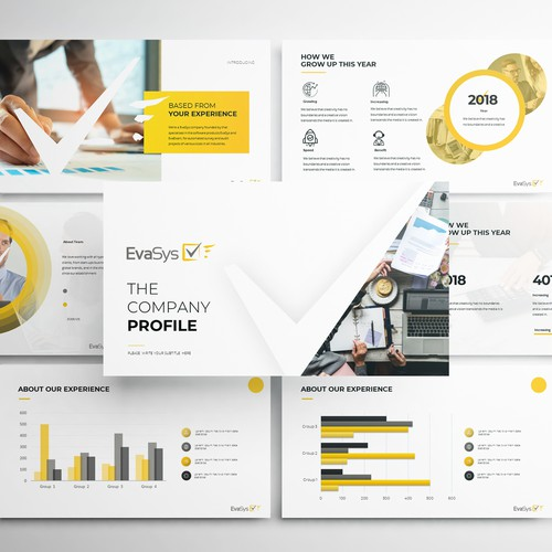 PowerPoint Template for EvaSys