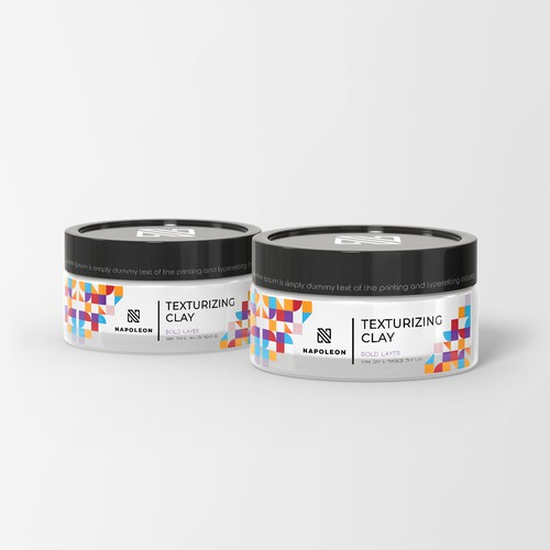 Texturizing Clay Label