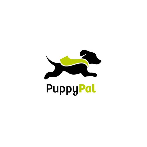 Simple puppy illustration for PuppyPal